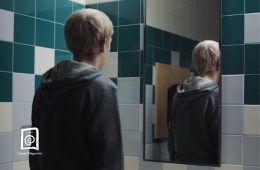Joseph in the Bathroom
