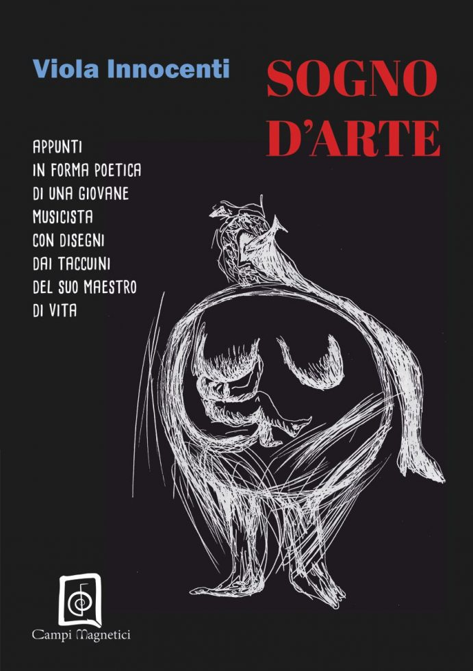 """Copertina del libro """"Sogno d'Arte"""" di Viola Innocenti"""
