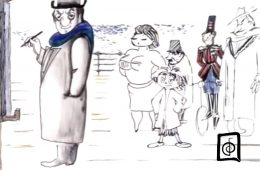 disegni di Fellini