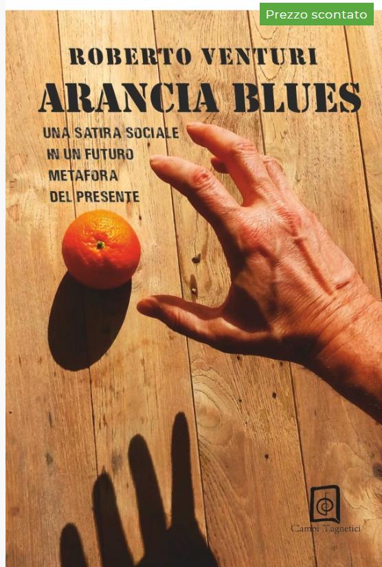 Copertina del libro Arancia Blues di Roberto Venturi
